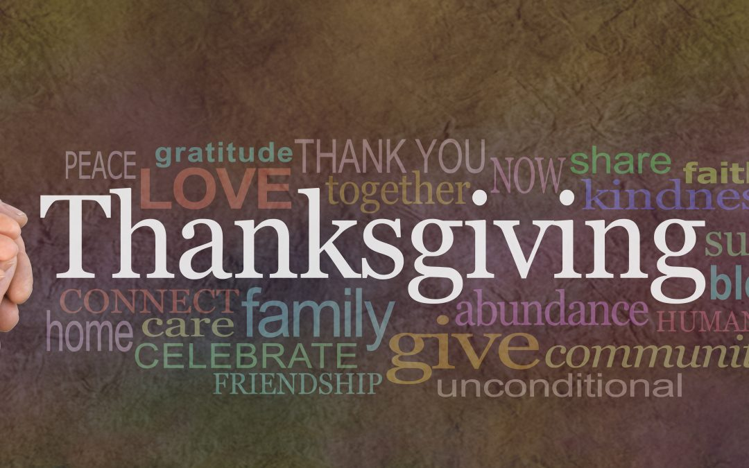 We pause to give thanks.