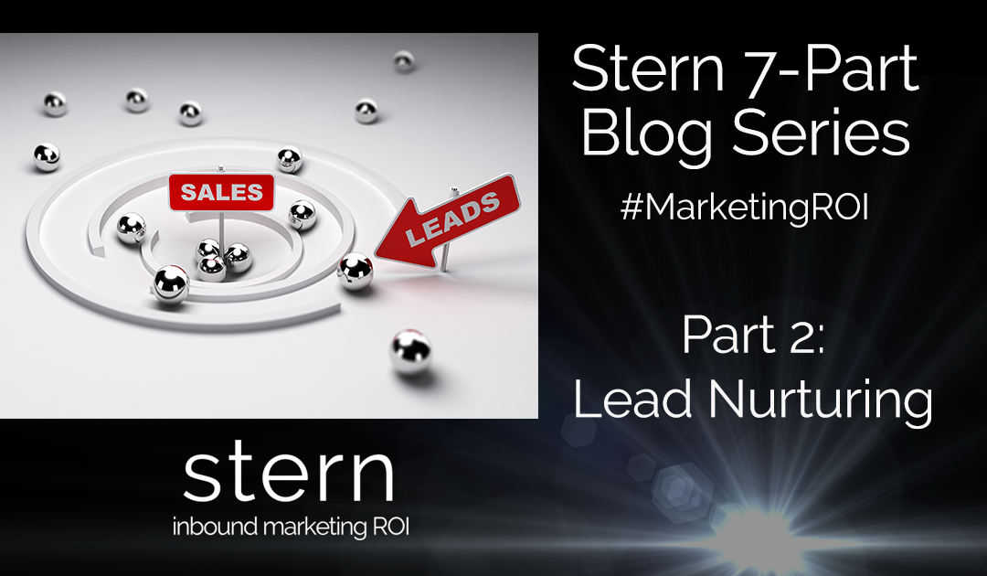 Lead Nurturing #MarketingROI Part 2