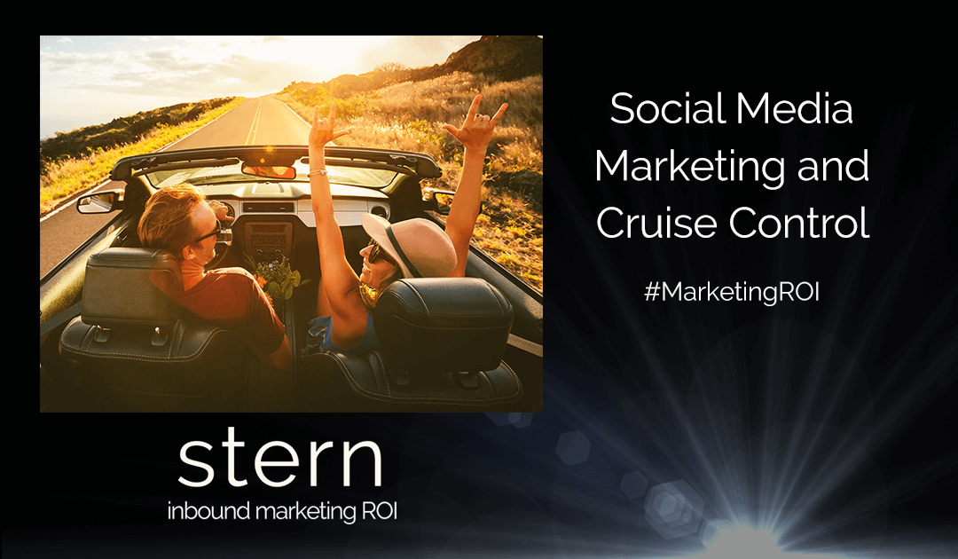 Social Media Marketing and Cruise Control
