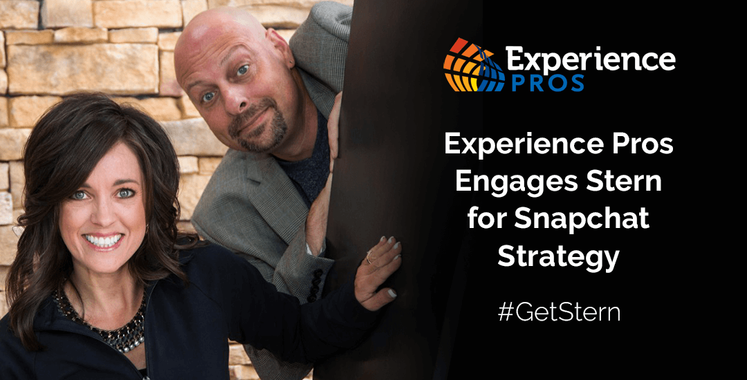 Experience Pros Radio Show Engages Stern for Snapchat Marketing