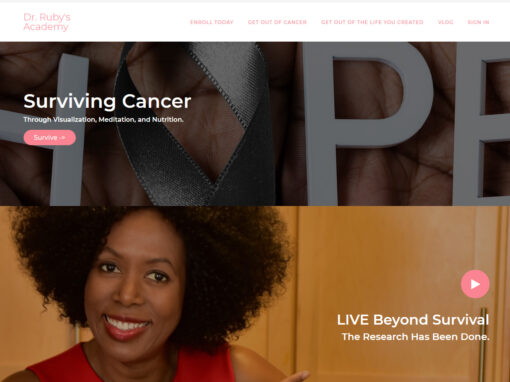 Dr. Ruby's Academy An Alternative Way Out Of Cancer